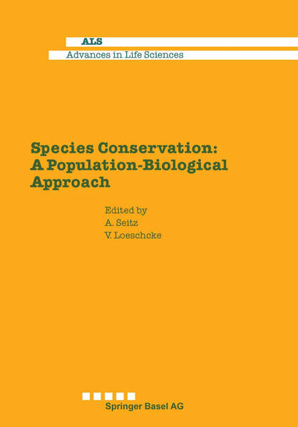 Species Conservation: A Population-Biological Approach - Coverbild