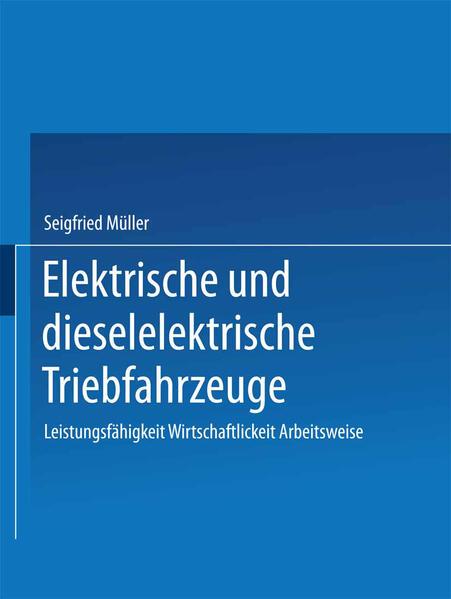 Elektrische und dieselelektrische Triebfahrzeuge - Coverbild