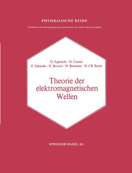 Theorie der elektromagnetischen Wellen - Coverbild