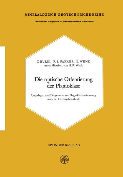 Die optische Orientierung der Plagioklase - Coverbild