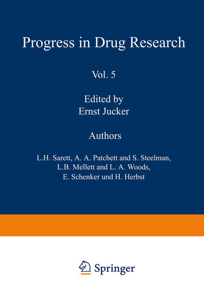 Fortschritte der Arzneimittelforschung /  Progress in Drug Research /  Progrès des recherches pharmaceutiques - Coverbild