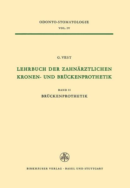 Lehrbuch der Zahnärztlichen Kronen-und Brückenprothetik - Coverbild