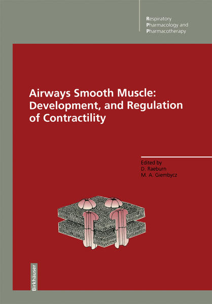 Airways Smooth Muscle: Development, and Regulation of Contractility - Coverbild
