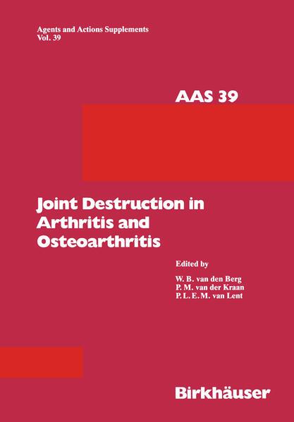 Joint Destruction in Arthritis and Osteoarthritis - Coverbild
