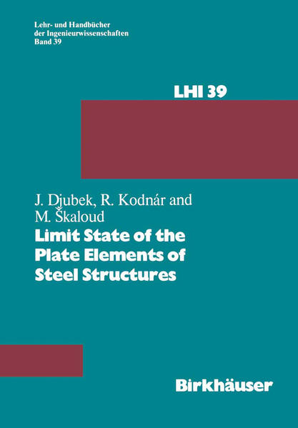 Limit State of the Plate Elements of Steel Structures - Coverbild