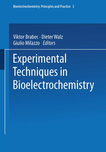 Experimental Techniques in Bioelectrochemistry - Coverbild