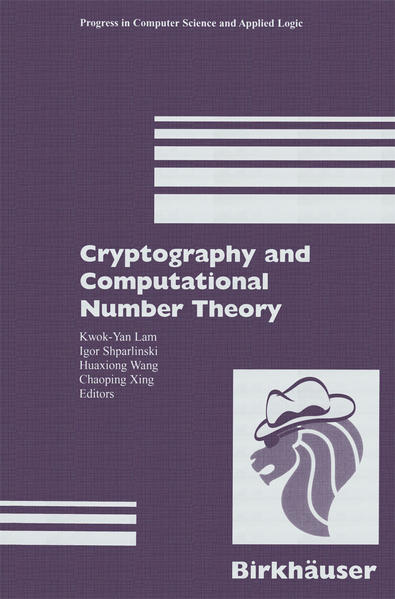 Cryptography and Computational Number Theory - Coverbild