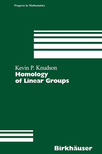Homology of Linear Groups - Coverbild