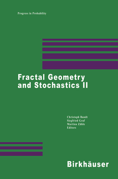 Fractal Geometry and Stochastics II - Coverbild
