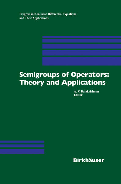 Semigroups of Operators: Theory and Applications PDF Jetzt Herunterladen