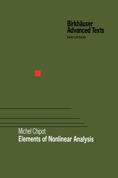 Elements of Nonlinear Analysis - Coverbild