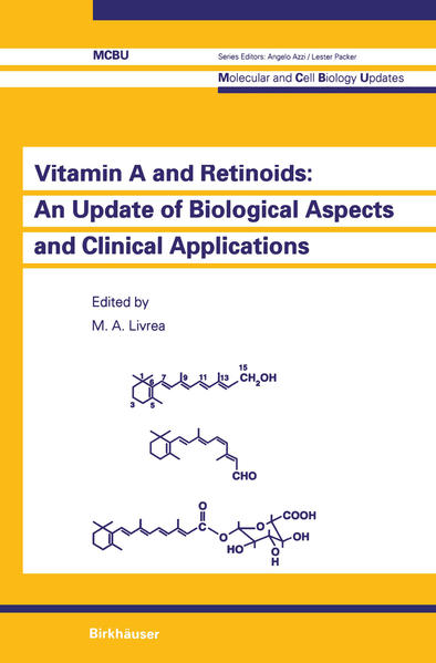 Vitamin A and Retinoids: An Update of Biological Aspects and Clinical Applications - Coverbild