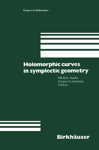 Holomorphic Curves in Symplectic Geometry - Coverbild