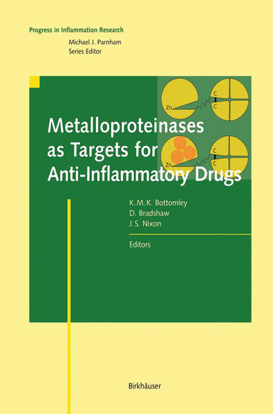 Metalloproteinases as Targets for Anti-Inflammatory Drugs - Coverbild