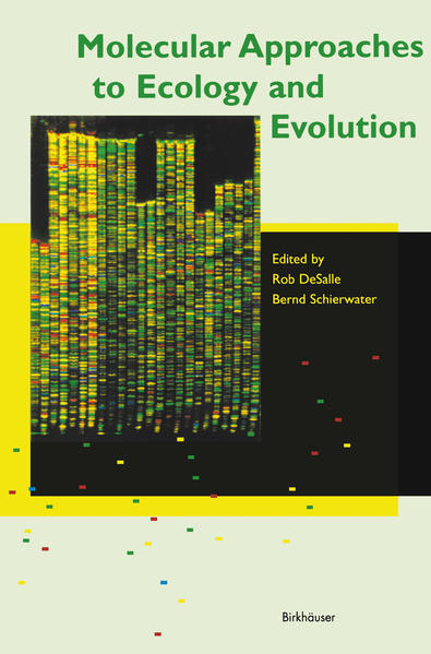 Molecular Approaches to Ecology and Evolution - Coverbild