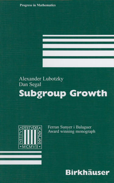 Subgroup Growth - Coverbild