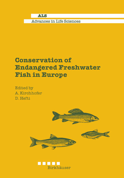 Conservation of Endangered Freshwater Fish in Europe - Coverbild