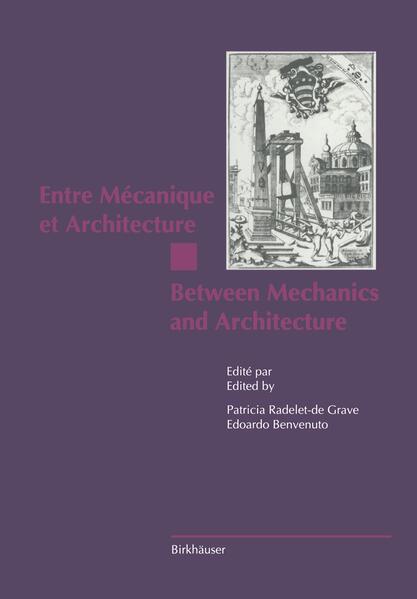 Entre Mécanique et Architecture / Between Mechanics and Architecture - Coverbild