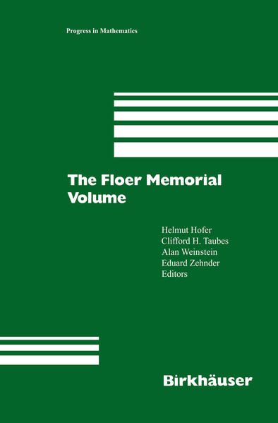 The Floer Memorial Volume - Coverbild