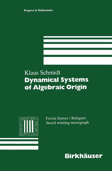 Dynamical Systems of Algebraic Origin - Coverbild