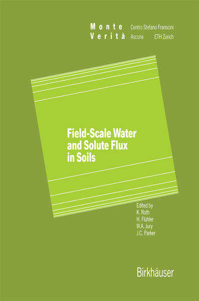 Field-Scale Water and Solute Flux in Soils - Coverbild