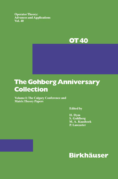 The Gohberg Anniversary Collection - Coverbild