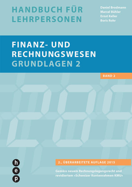 Finanz- und Rechnungswesen - Grundlagen 2, Handbuch für Lehrpersonen - Coverbild
