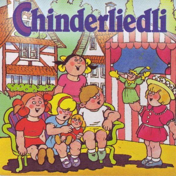 Chinderliedli zum lose und mitsinge - Coverbild