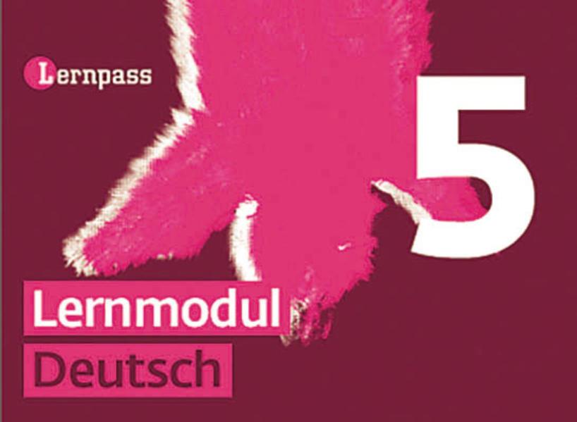 Lernpass, Lernmodule Deutsch, Modul 5 - Coverbild