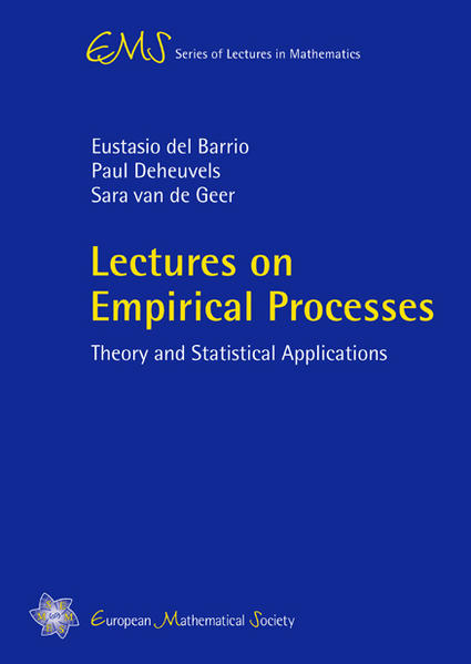 Lectures on Empirical Processes - Coverbild