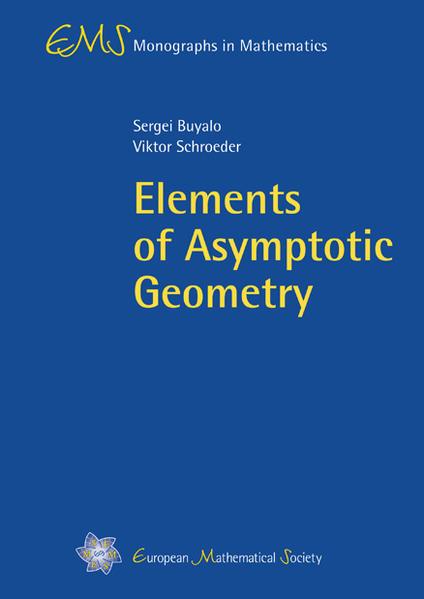 Elements of Asymptotic Geometry - Coverbild