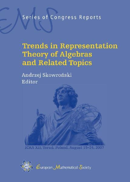 Trends in Representation Theory of Algebras and Related Topics - Coverbild