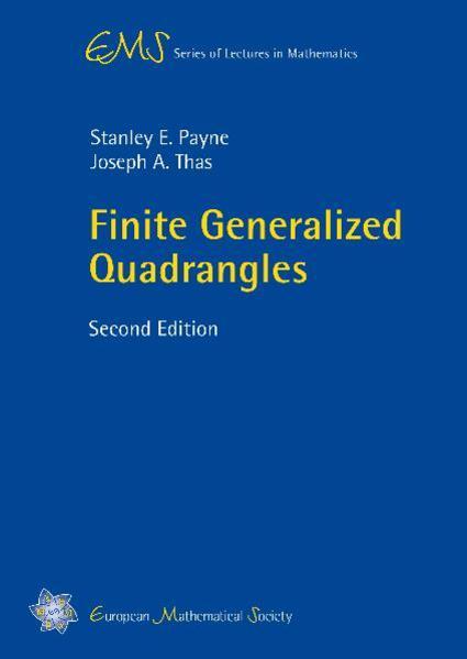 Finite Generalized Quadrangles - Coverbild
