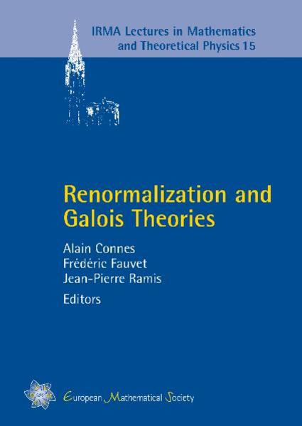 Renormalization and Galois Theories - Coverbild