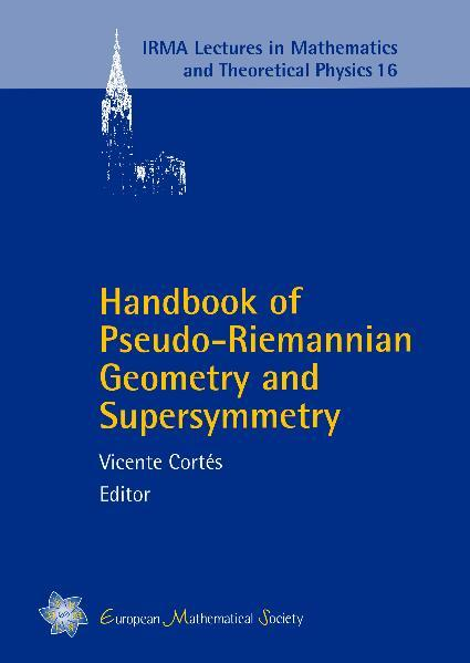 Handbook of Pseudo-Riemannian Geometry and Supersymmetry - Coverbild