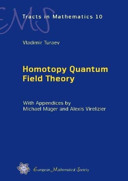 Homotopy Quantum Field Theory - Coverbild