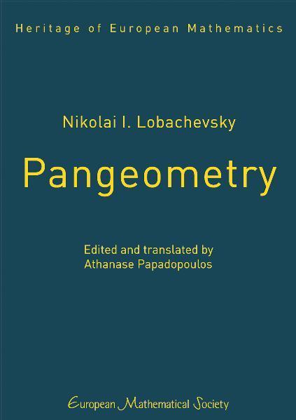 Nikolai I. Lobachevsky, Pangeometry - Coverbild