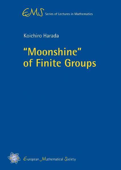 """Moonshine"" of Finite Groups - Coverbild"
