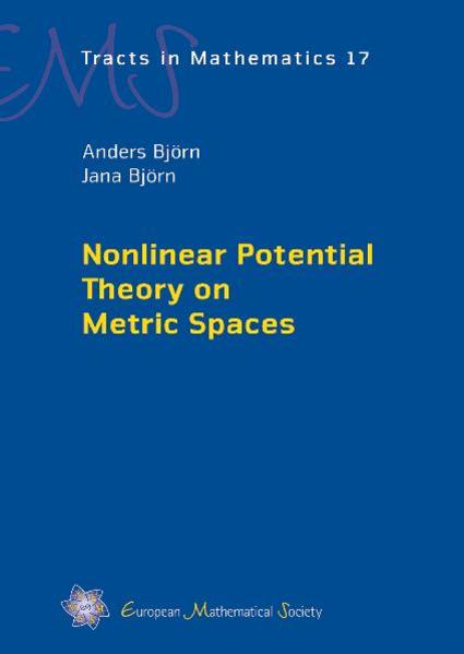 Nonlinear Potential Theory on Metric Spaces - Coverbild