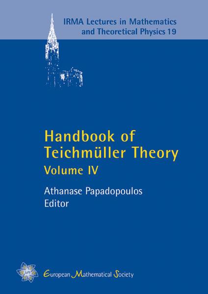 Handbook of Teichmüller Theory - Coverbild