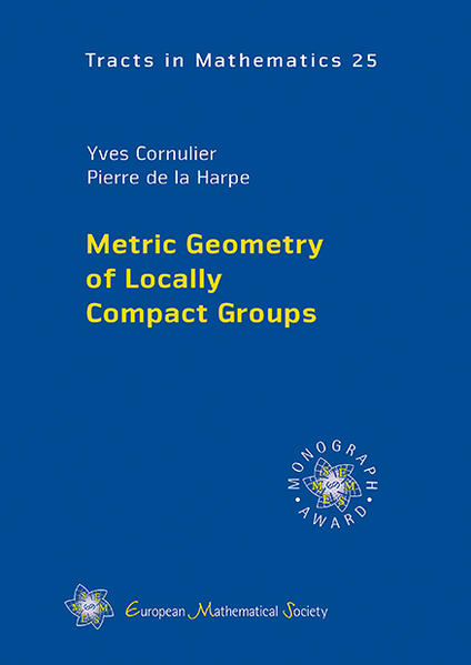 Metric Geometry of Locally Compact Groups - Coverbild