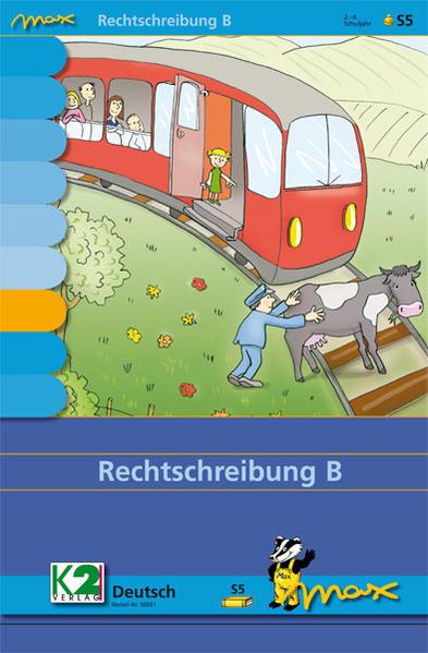 Max-Lernkarten: Rechtschreibung B - Coverbild