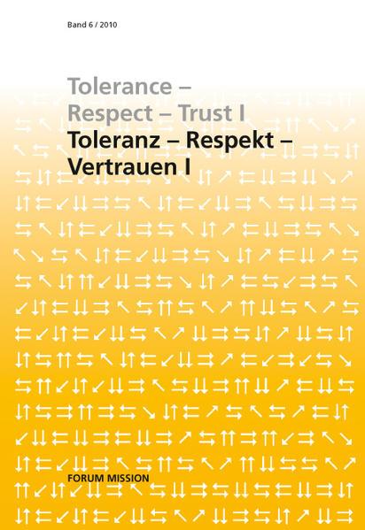 Toleranz - Respekt - Vertrauen I - Coverbild