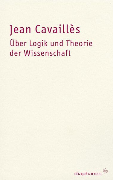 Über Logik und Theorie der Wissenschaft - Coverbild