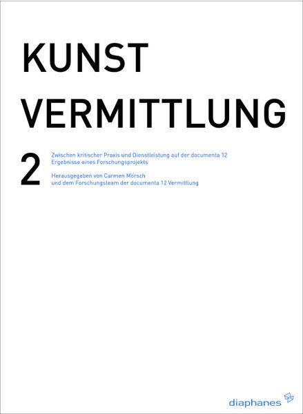 KUNSTVERMITTLUNG 2  - Coverbild