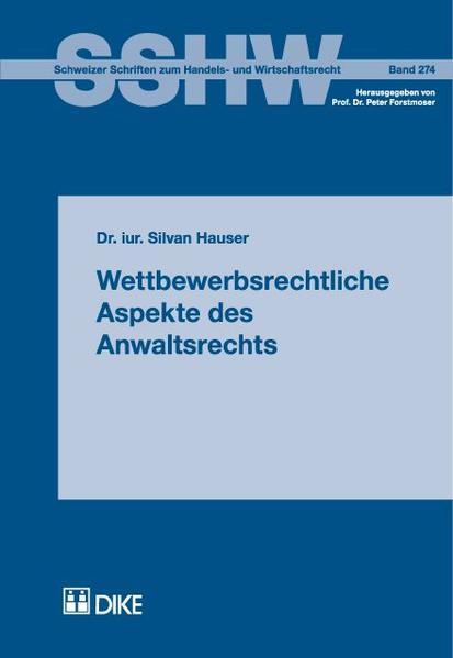 Wettbewerbsrechtliche Aspekte des Anwaltsrechts - Coverbild