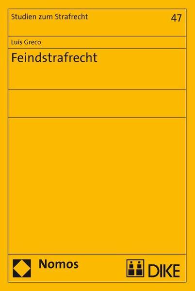 Feindstrafrecht - Coverbild