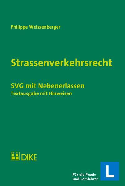 Strassenverkehrsrecht - Coverbild