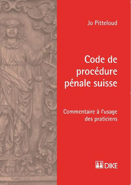 Code de procédure pénale suisse - Coverbild