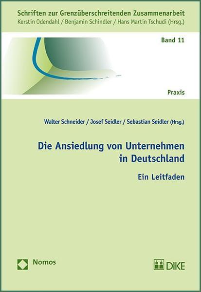 Die Ansiedlung von Unternehmen in Deutschland - Coverbild